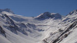 Skifahren in Sölden auf dem Rettenbachgletscher