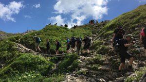 2. Tag Alpenüberquerung