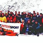 1998 Sölden Skitest mit Intersport Tempel