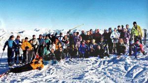 1999 Skifahren in Sölden mit Magdeburger Skigruppe