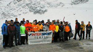 2001 Skitest Intersport Gletscher am Rettenbach