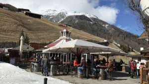 Skifahren in Sölden März 2017